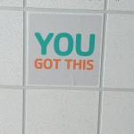 you got this written on the ceiling